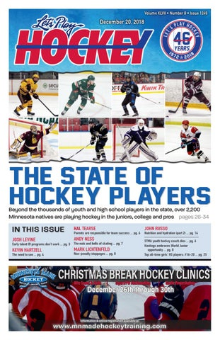 16d34c1d5c0 The State of Hockey Players by Let s Play Hockey - issuu