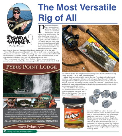Page 30 of Fishful Thinker: The Most Versatile Rig of All