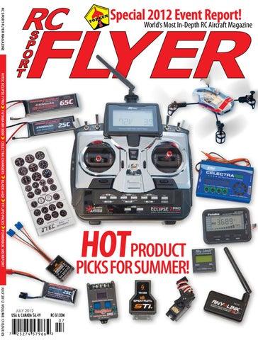 RC Sport Flyer July 2012 (Vol 17-05) by RC Flyer News - issuu