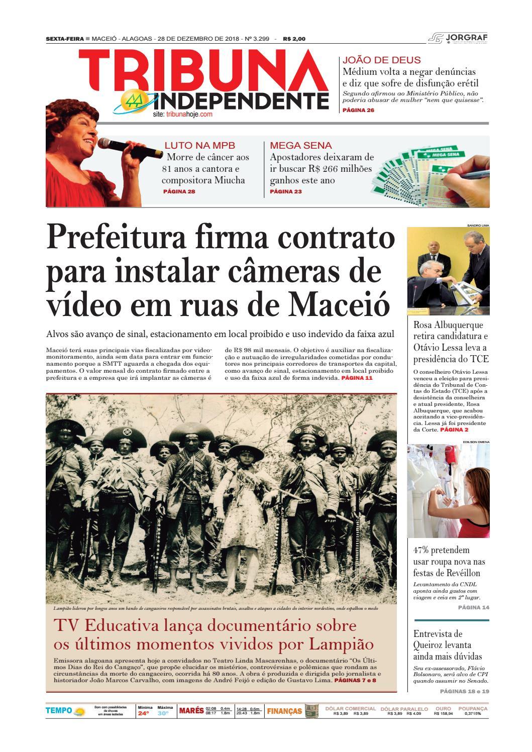 b149ad5e35 Edição número 3299 - 28 de dezembro de 2018 by Tribuna Hoje - issuu