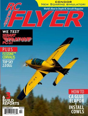RC Sport Flyer Mar/Apr 2012 (Vol 17-02) by RC Flyer News - issuu