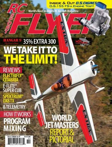 RC Sport Flyer Jan/Feb 2012 (Vol 17-01) by RC Flyer News - issuu