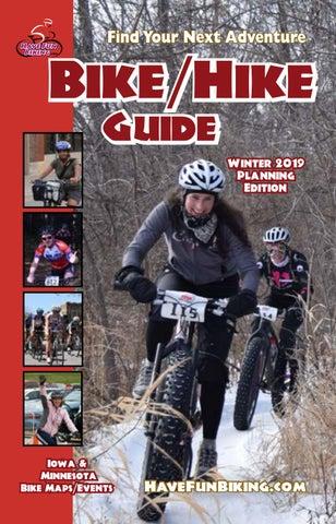 Minnesota Iowa Bike Hike Guide Winter 2019