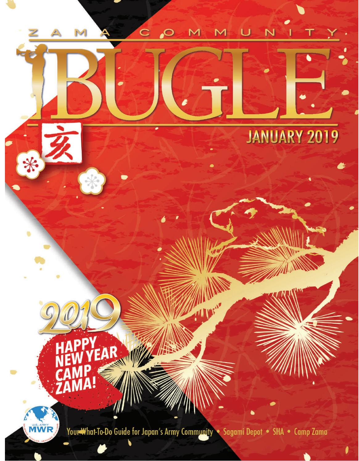 January 2019 Bugle by Camp Zama MWR Marketing - issuu