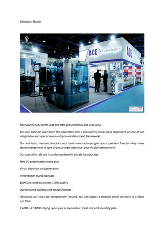 D Exhibition Booth Model : Exhibition stand builders companies in dubai exhibition booths