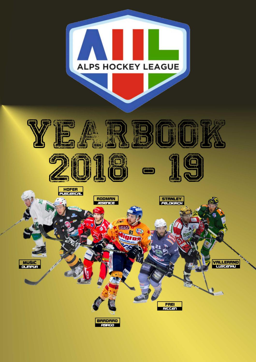 Alps Hockey League 2018/19 Yearbook by trapeznik - issuu