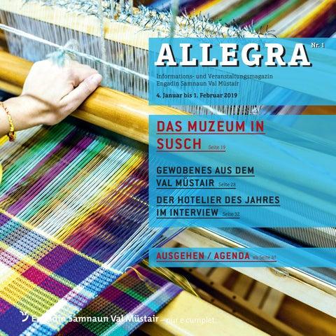 3856b0d4974731 Allegra Nr. 1 - 2019 by Tourismus Engadin Scuol Samnaun Val Müstair ...