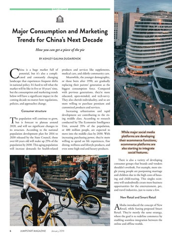 Page 8 of Major Consumption and Marketing Trends for China's Next Decade