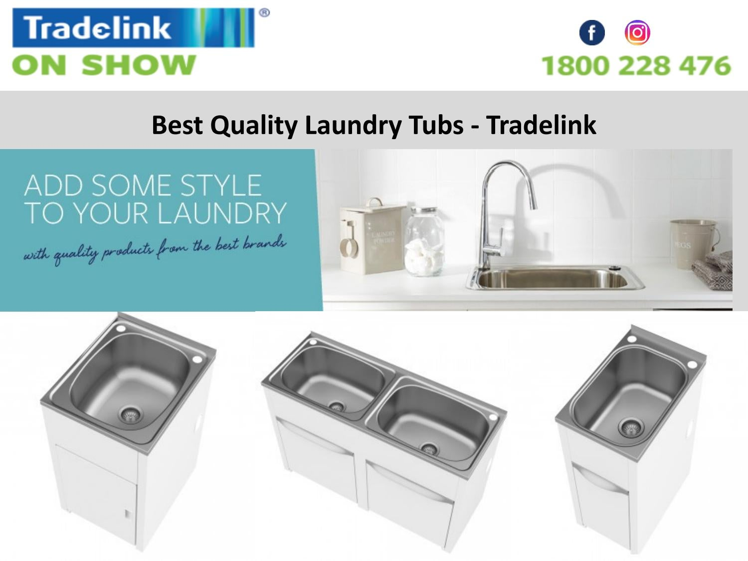 Best Quality Laundry Tubs Tradelink By Tradelink Plumbing Centres