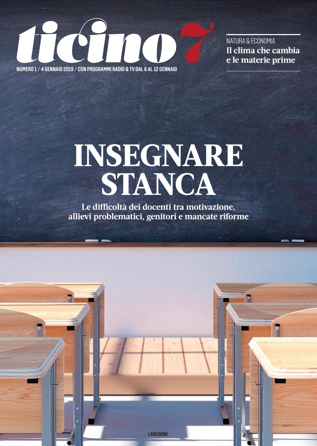 Ticino 7 N01 by laRegione issuu