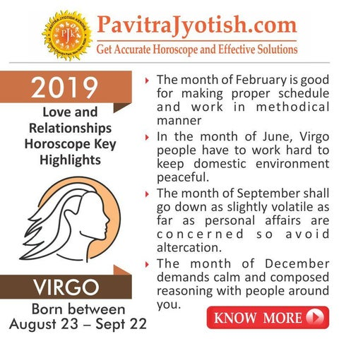 2019 Virgo Love and Relationships Horoscope by Pavitra