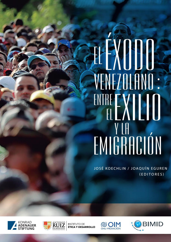 Niños Haciendo Porno En El Instituto libro el éxodo venezolano: entre el exilio y la emigración