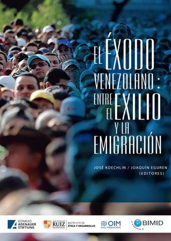 Libro El éxodo venezolano  Entre el exilio y la emigración by ... b6c34c1856