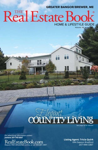 January edition-The Real Estate Book of Grtr Bangor Maine by