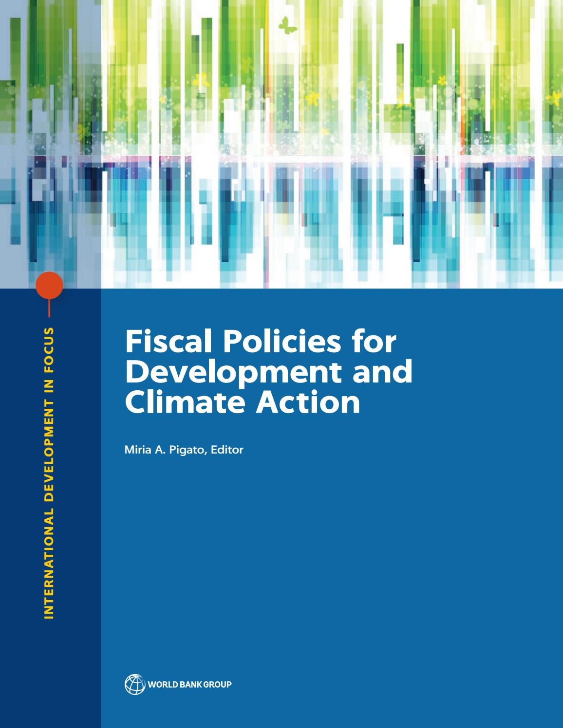 0a85d9ef6c35 Fiscal Policies for Development and Climate Action by World Bank  Publications - issuu