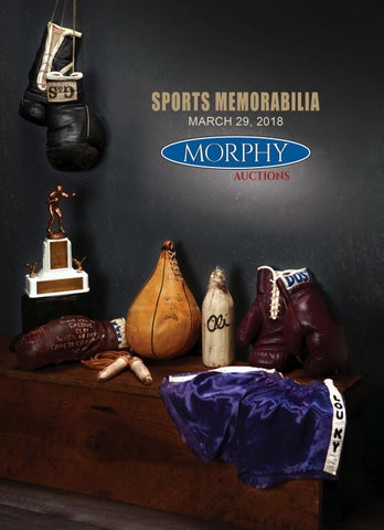 2018 March 29 Sports Memorabilia by Morphy Auctions - issuu