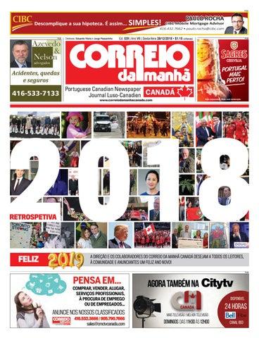 Correio da Manhã Canadá 28 de dezembro 2018 by Correio da Manhã ... ad0a6da8940