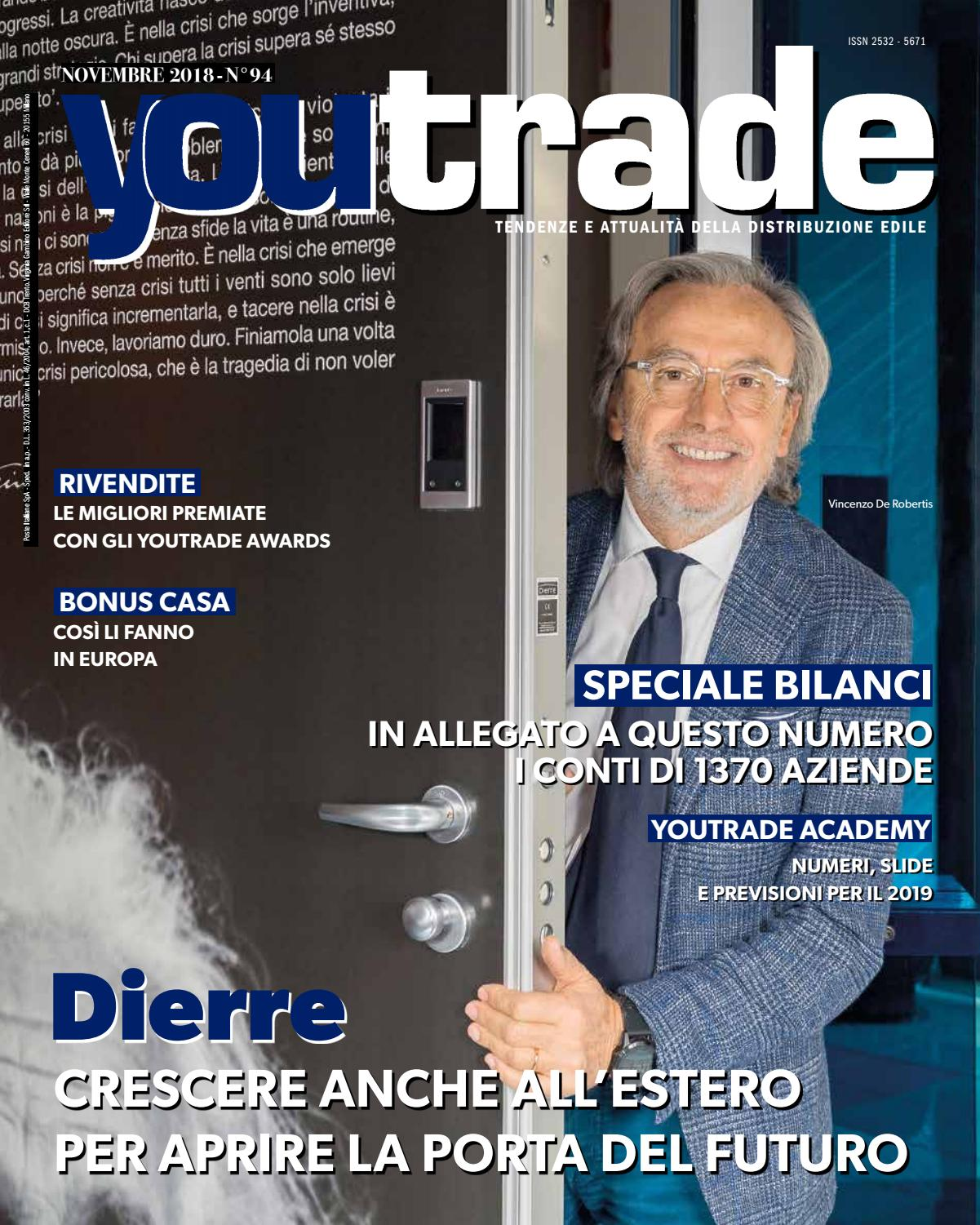 a09825e7f0 YouTrade Novembre 2018 by Virginia Gambino Editore Srl - issuu