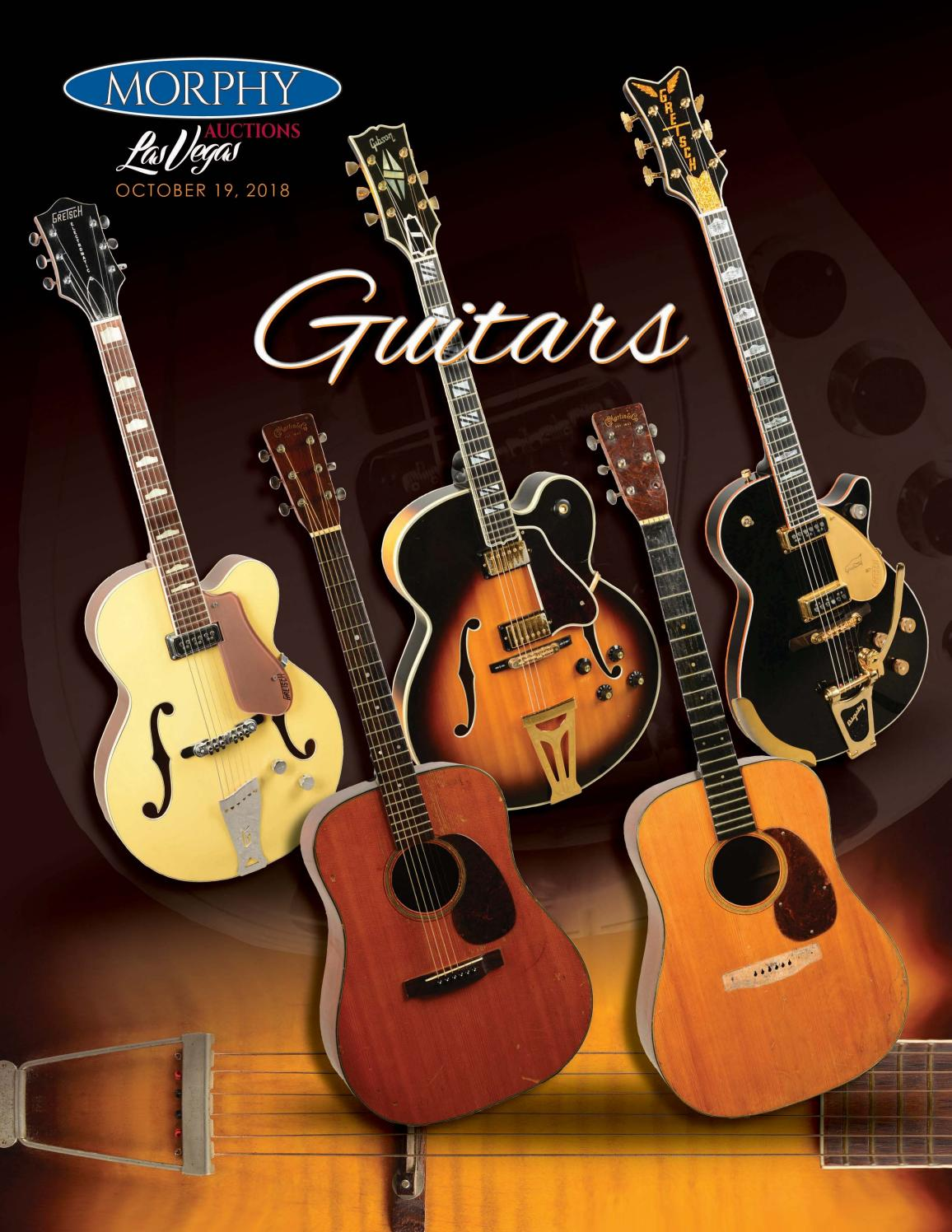 2018 October 19 Guitars by Morphy Auctions - issuu