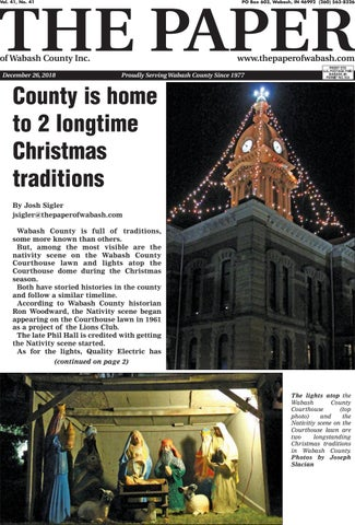 The Paper Of Wabash County Dec 26 2018 Issue By The Paper Of