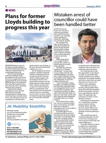 Page 6 of Plans for former Lloyds building to progress this year