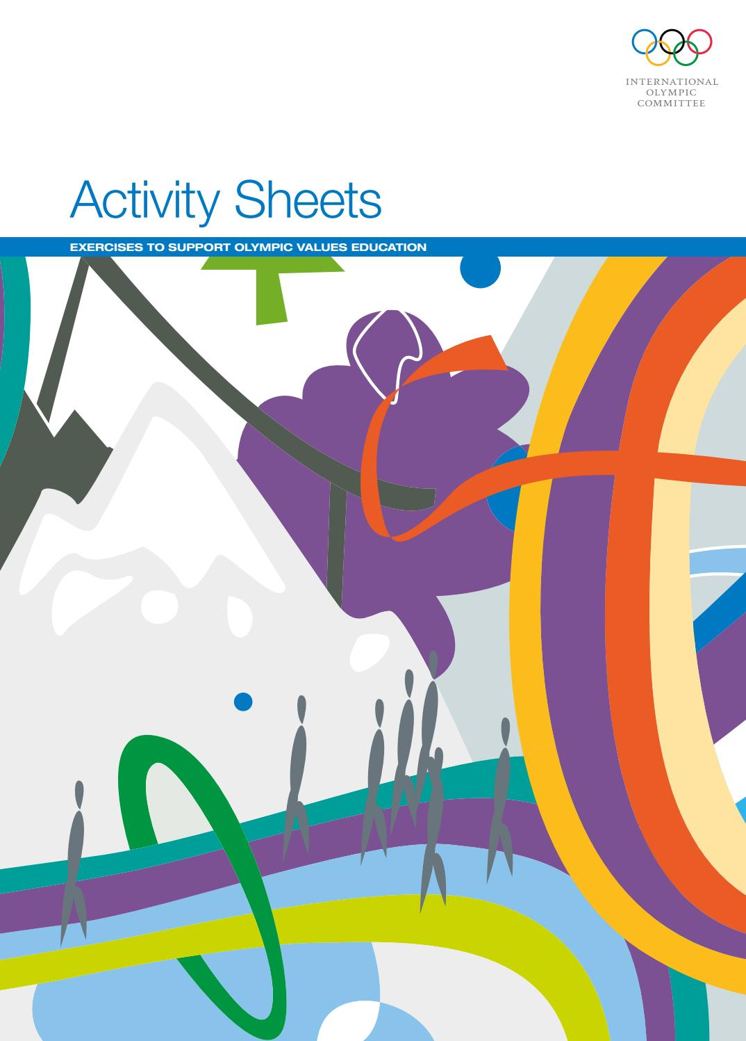 Activity Sheets by APAO - issuu