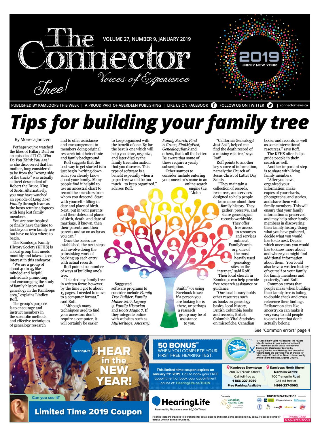 The Connector January 2019 By The Connector Issuu