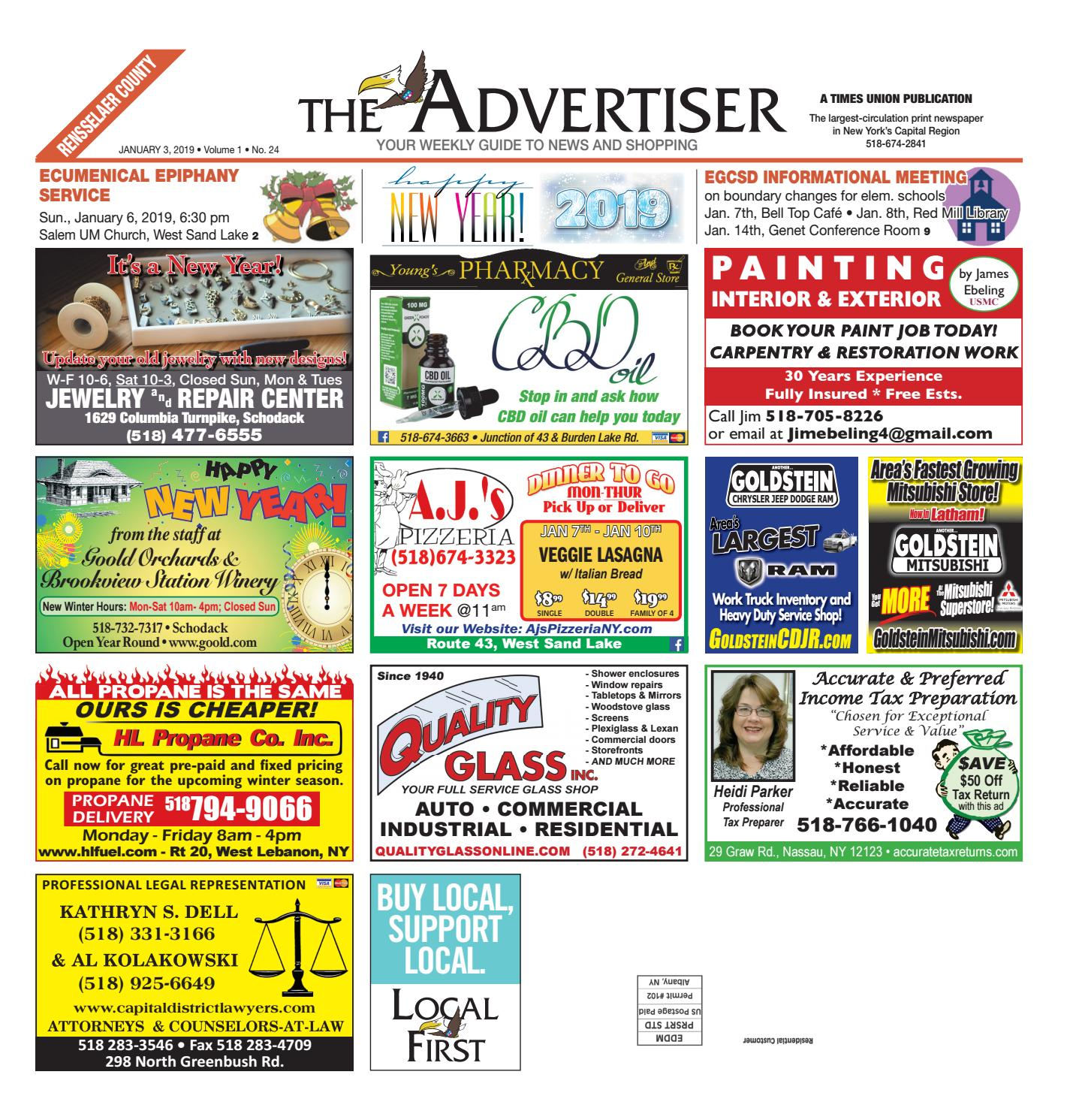 Local First The Advertiser 010319