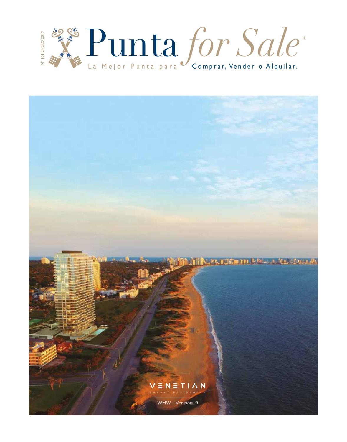 Revista de Real Estate Punta For Sale, edición # 101 Enero 2019