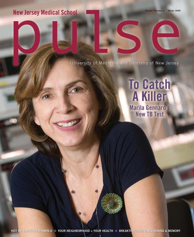 Pulse Magazine Winter 2009 by Rutgers New Jersey Medical