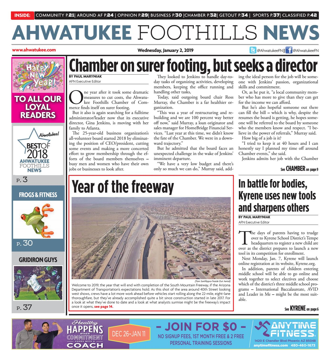 Ahwatukee Foothills News - January 2 2018 by Times Media