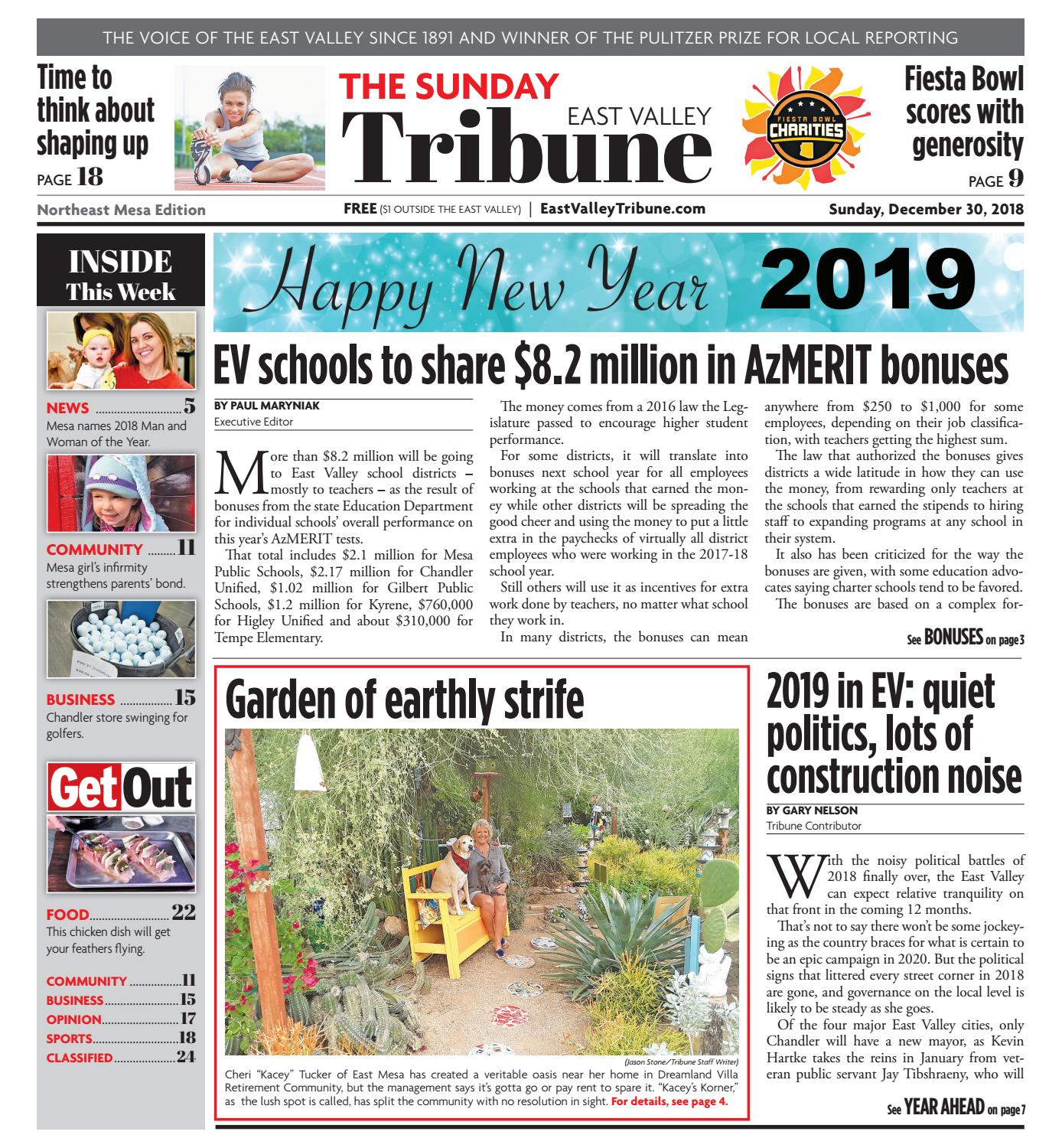 new product 56b1d 2bd9e East Valley Tribune - Northeast Mesa December 30, ...