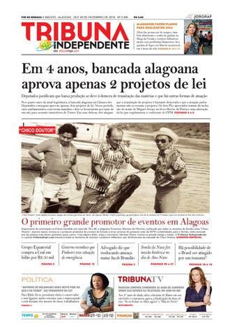 538c0a98dc Edição número 3300 - 29 e 30 de dezembro de 2018 by Tribuna Hoje - issuu