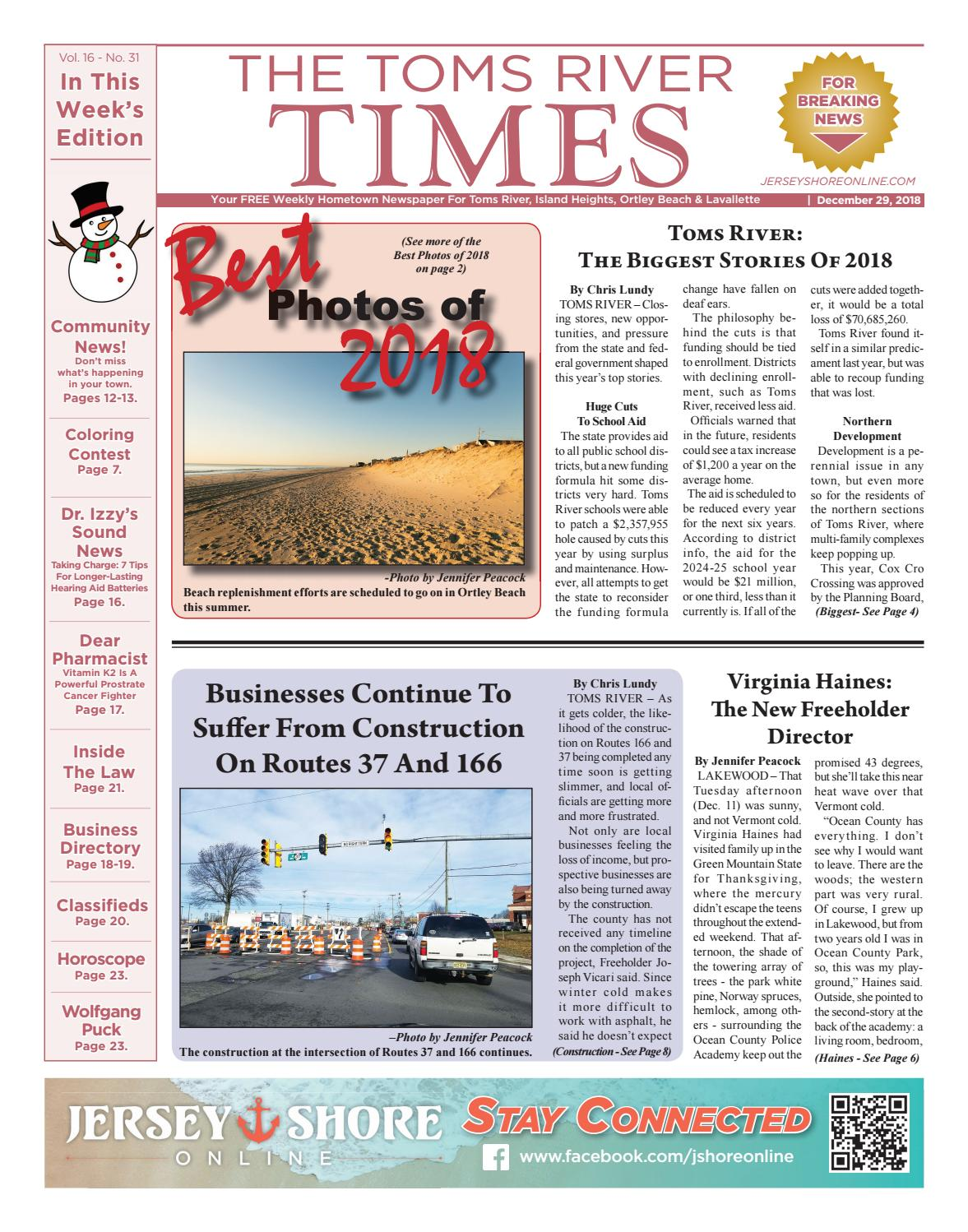 2018-12-29 - The Toms River Times by Micromedia Publications ...