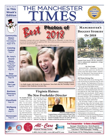2018 12 29 The Manchester Times By Micromedia Publicationsjersey