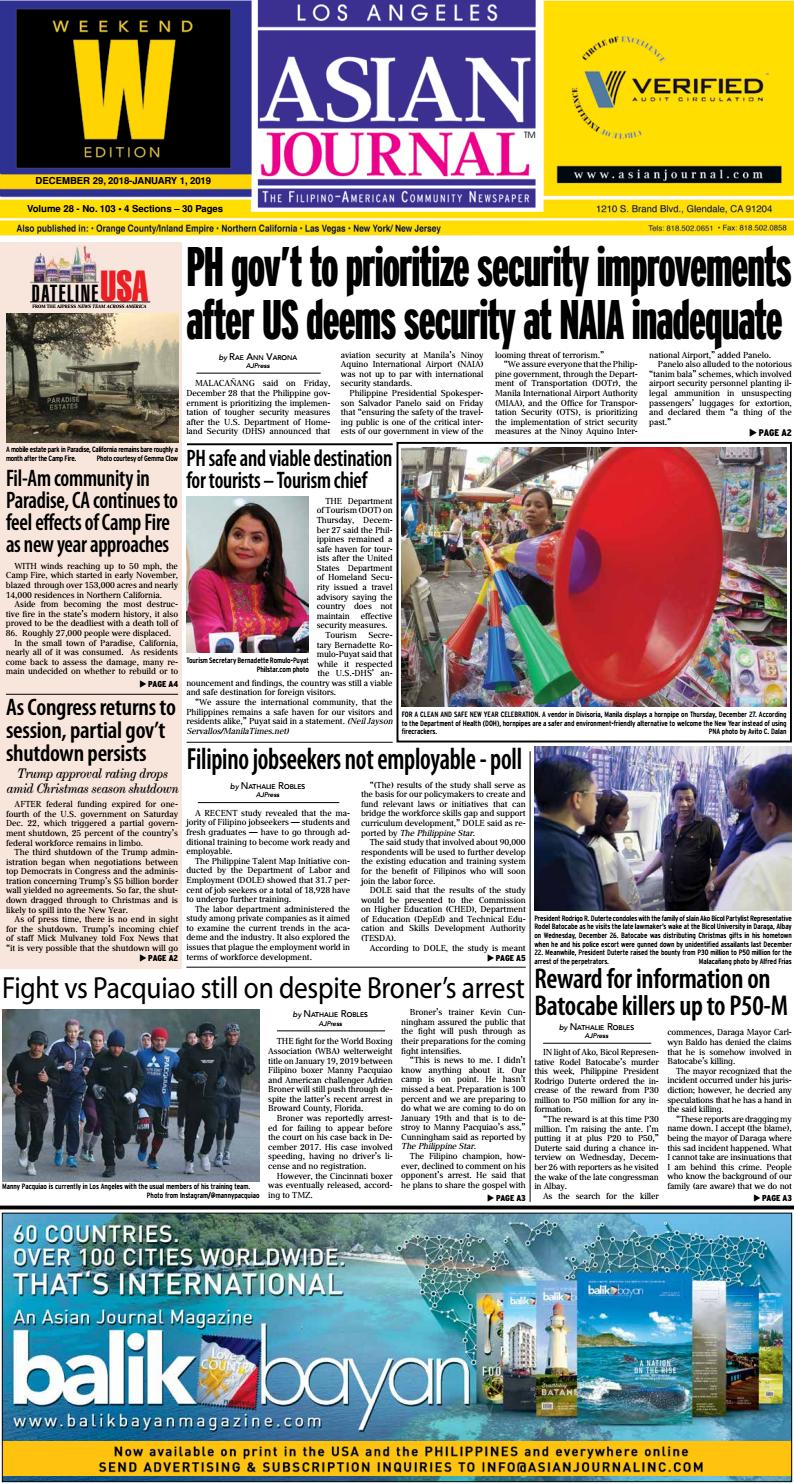 35467804a 122918 - Los Angeles Weekend Edition by Asian Journal Community Newspapers  - issuu