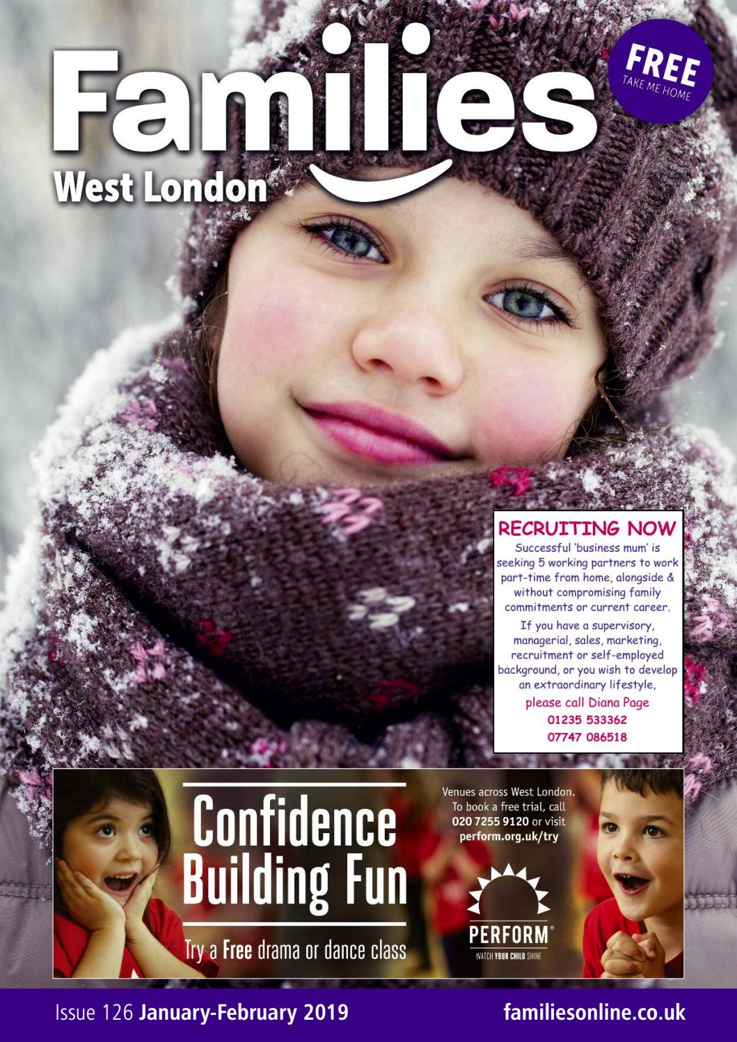 f769a92a45e4a Families West London Jan-Feb 2019 by Families Magazine - issuu