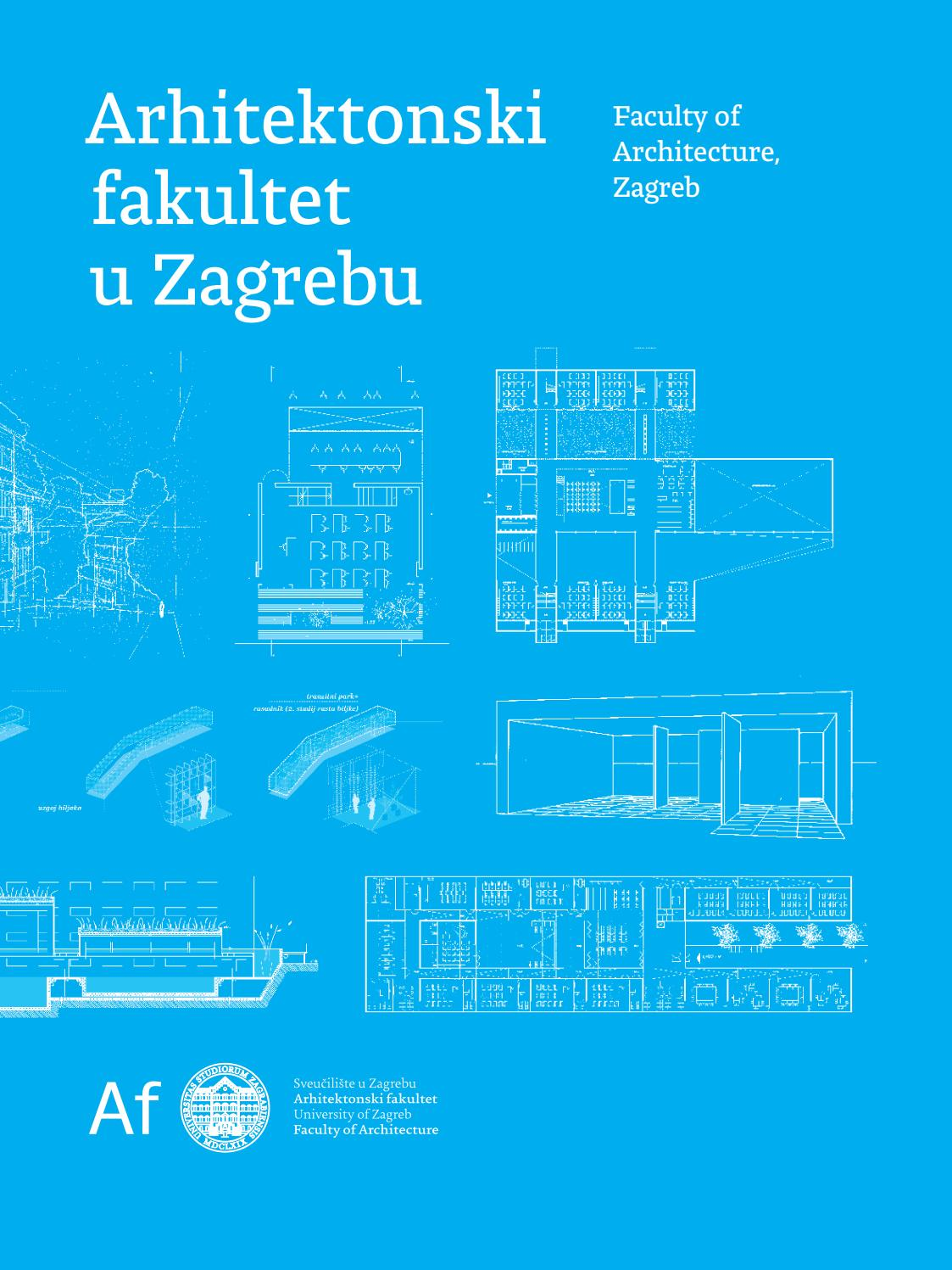 Afzg Promo Brosura 2018 By Faculty Of Architecture Zagreb Issuu