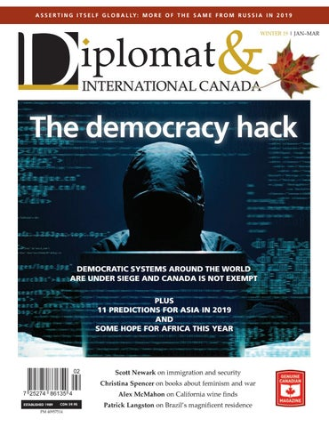 Diplomat International Canada Winter 2019 By Diplomatonline