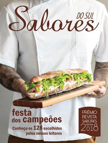 Revista Sabores do Sul - Edição Prêmio 2018 by Revista Sabores do ... d20a393c1d
