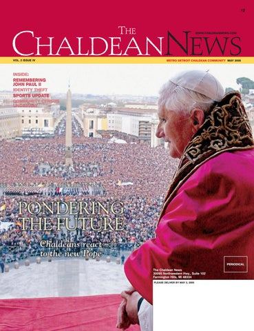Chaldean News - May 2005 by The Chaldean News - issuu