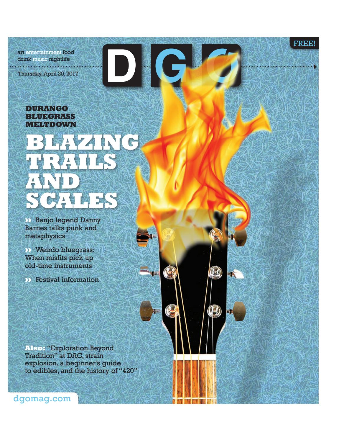 Durango Bluegrass Meltdown Blazing Trails and Scales by