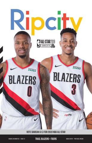 4a791c7b933d 12.30.18 vs 76ers by Portland Trail Blazers - issuu