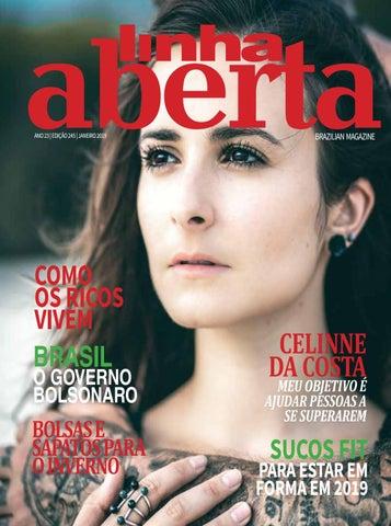 LINHA ABERTA BRAZILIAN MAGAZINE JANUARY 2019 by Linha Aberta ... 18e3b0fda0