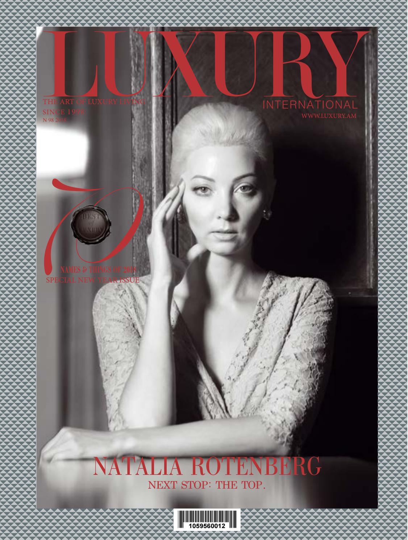 e20ce8ff8811 Natalia Rotenberg by Luxury Magazine - issuu