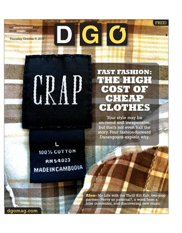 Fast Fashion: The High Cost of Cheap Clothes by Ballantine
