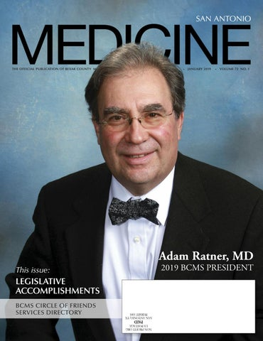 San Antonio Medicine January 2019 by Traveling Blender - issuu