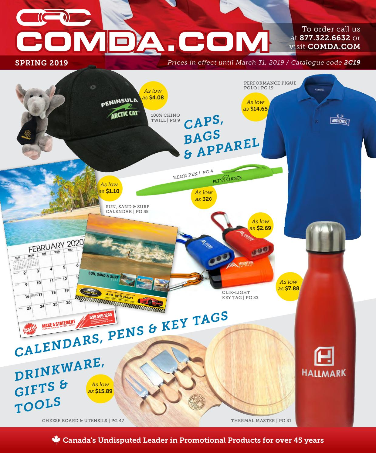 Mar 446 Advertising And Promotions: Promotional Products 2019 (CAN) By