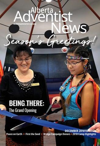 Alberta Adventist News AAN December 2018 By Alberta