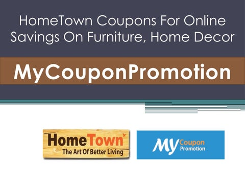 Hometown Coupons For Online Savings On